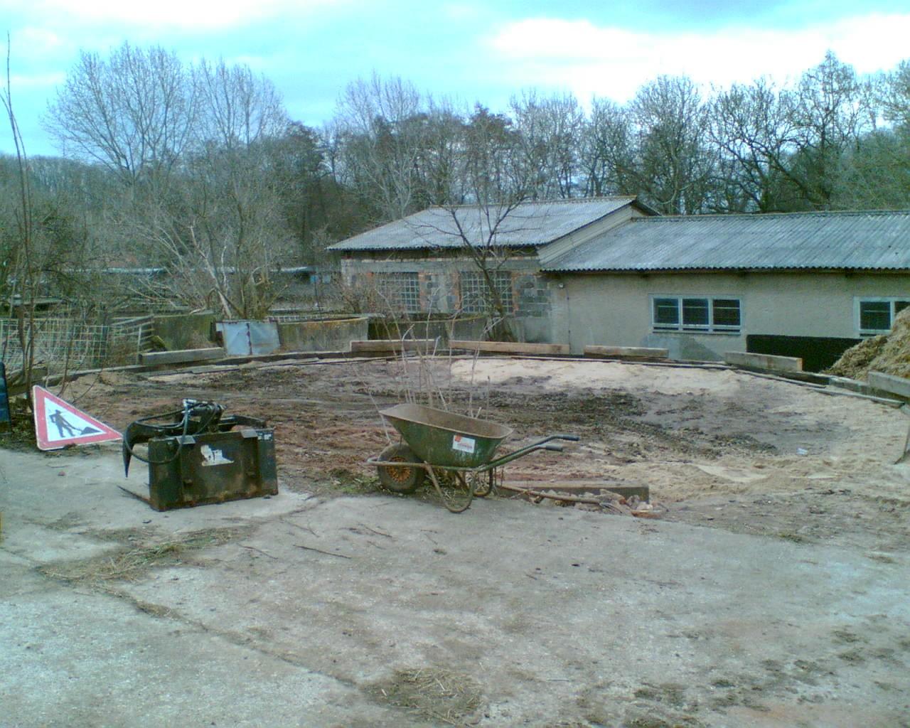 Bau des Roundpens